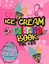 Ice Cream Coloring Books For Kids