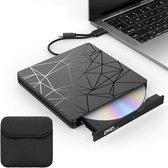 Best Berry® Externe DVD / CD Speler en Brander voor Laptop - Draagbaar -...