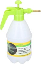 """Kinzo """"hoge"""" drukspuit met overdrukventiel   plantenspuit   plantensproeier 2 liter   zaaibed plantenspuiten   onkruidverdelger   Groen spuitventiel"""
