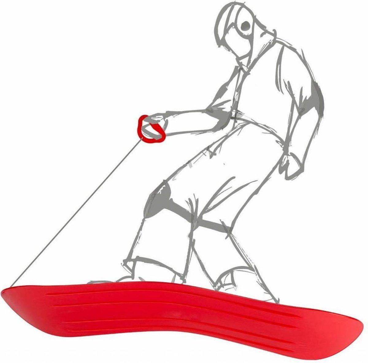 SLEE - SNOWBOARD - SNEEUWPRET - schaatsen - niet nodig