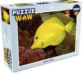 Puzzel 1000 stukjes volwassenen Vissen 1000 stukjes - Gele Tang  - PuzzleWow heeft +100000 puzzels