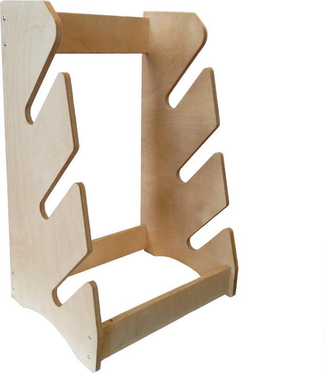 Board Racks - Longboard accessoires - Longboard rek - Longboard houder - Board rack - Staand rek voor 3 longboards/skateboards