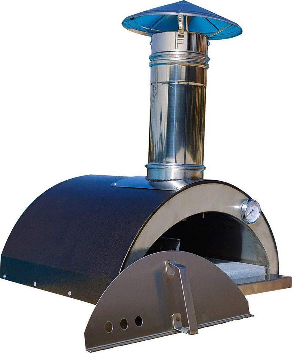 "Professionele Pizzaoven Hout ""Nonno Lillo"" | Pizzaovens | Pizza Oven | Pizzasteen | Pizzasnijder | Pizzaschep | Steengrill | Stoofpot | Koken & Bakken | Kookplaat | Keuken | Keukengerei | Italiaans | Buitenkeuken |"
