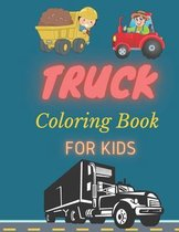 Trucks Coloring Book For kids
