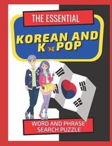 The Essential Korean and Kpop Word and Phrase Search Puzzle