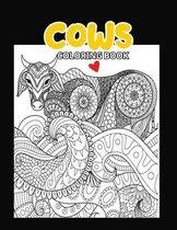 Cows Coloring Book