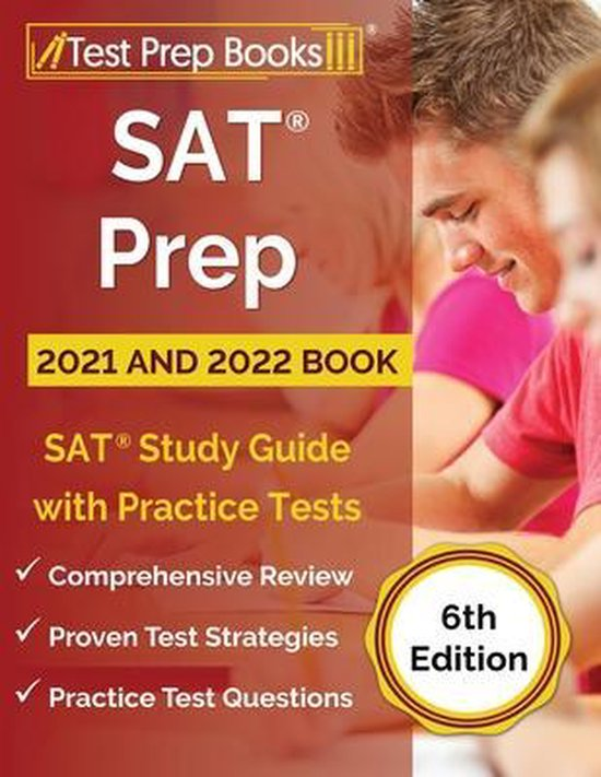 SAT Prep 2021 and 2022 Book