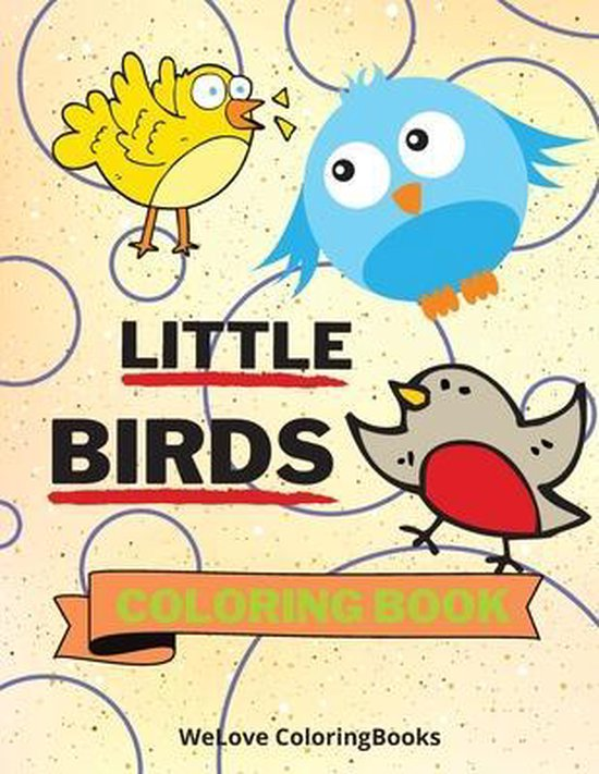 Little Birds Coloring Book