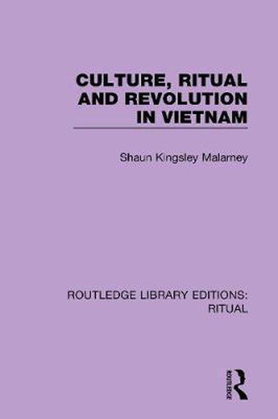 Boek cover Culture, Ritual and Revolution in Vietnam van Shaun Kingsley Malarney (Paperback)