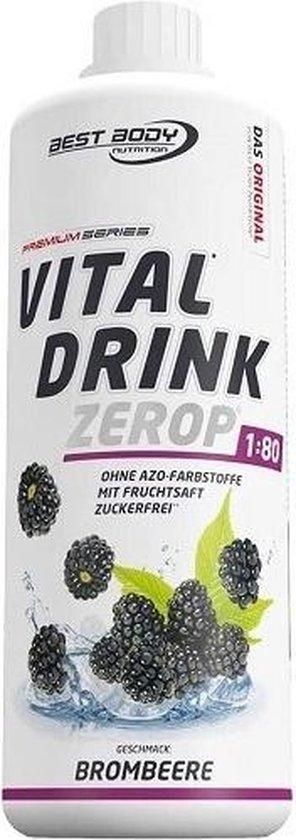 Low Carb Vital Drink 1000ml Black Berry