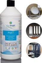 ProfiBright - Zakelijk - Allesreiniger Profi7 - Interieurreiniger - Fris van geur - Dierproefvrij - 1 liter