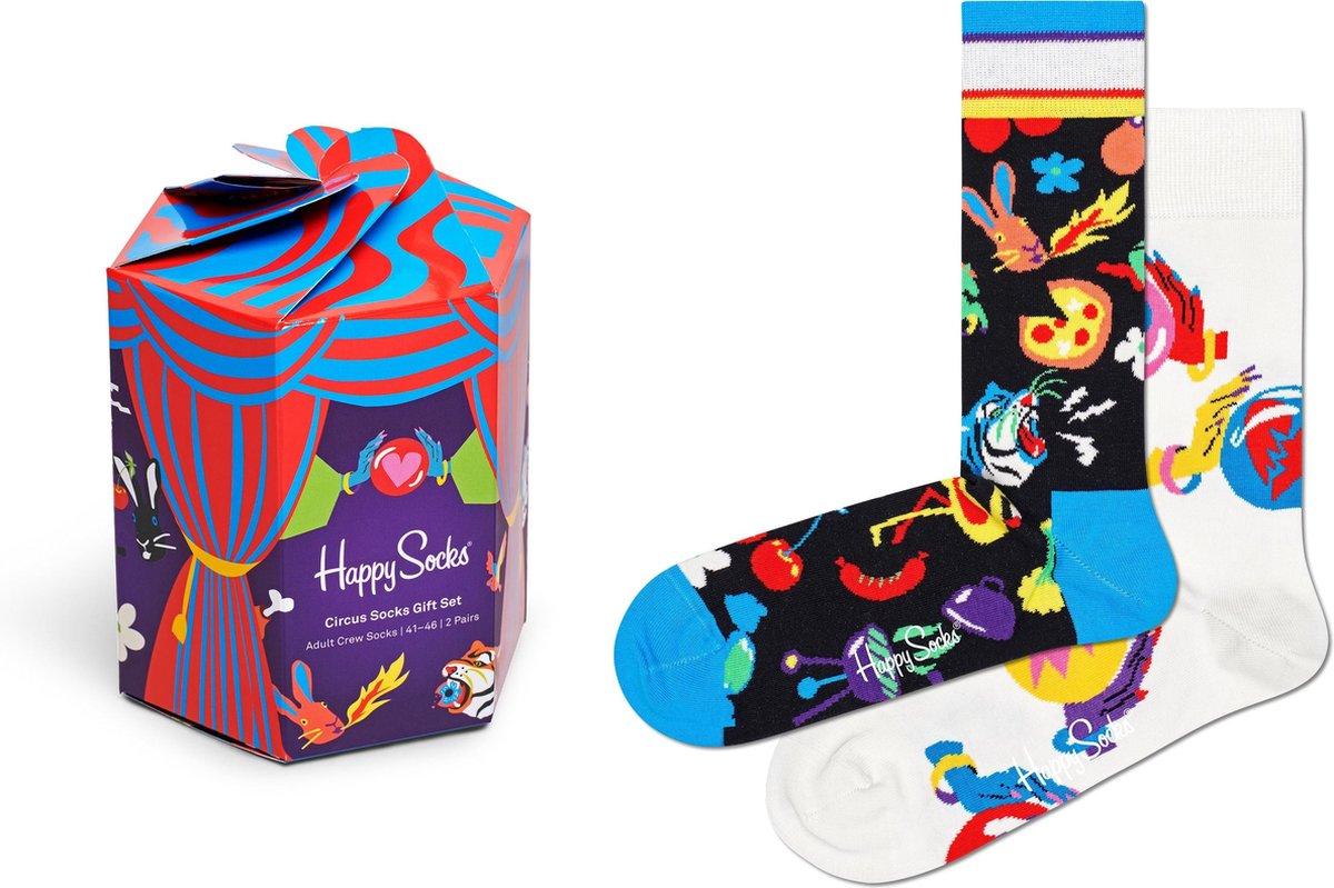 Happy Socks Circus Gift Box 2P - Maat 41-46