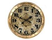 Wandklok  Gear 60cm | Wanddecoratie  | Wandklokken | Diameter 60  |
