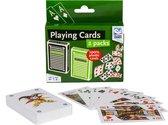 Clown Games Speelkaarten: 2-pack