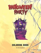 Halloween Coloring Book for Kids age 4-8