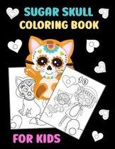 Sugar Skull Coloring Book for Kids