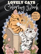 Lovely Cats Coloring Book