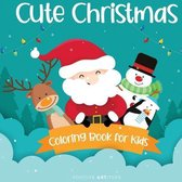 Cute Christmas Coloring Book for Kids