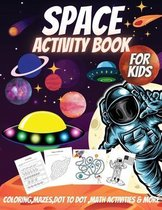 Space Activity Book For Kids