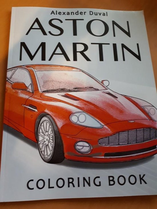 Afbeelding van Aston Martin Coloring Book