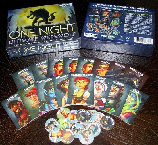 One Night Ultimate Werewolf - Engels