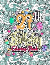 27th Birthday Coloring Book
