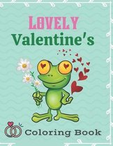 Lovely Valentine's Coloring Book