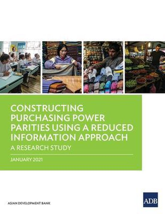 Boek cover Constructing Purchasing Power Parities Using a Reduced Information Approach van Asian Development Bank (Paperback)