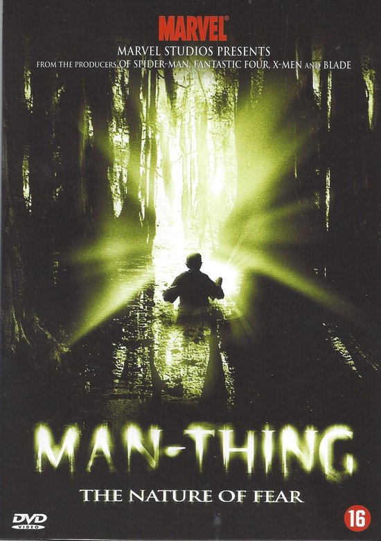 Cover van de film 'Man Thing'