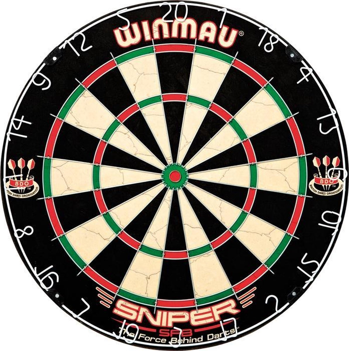Dartbord Winmau Sniper set incl. dartpijlen