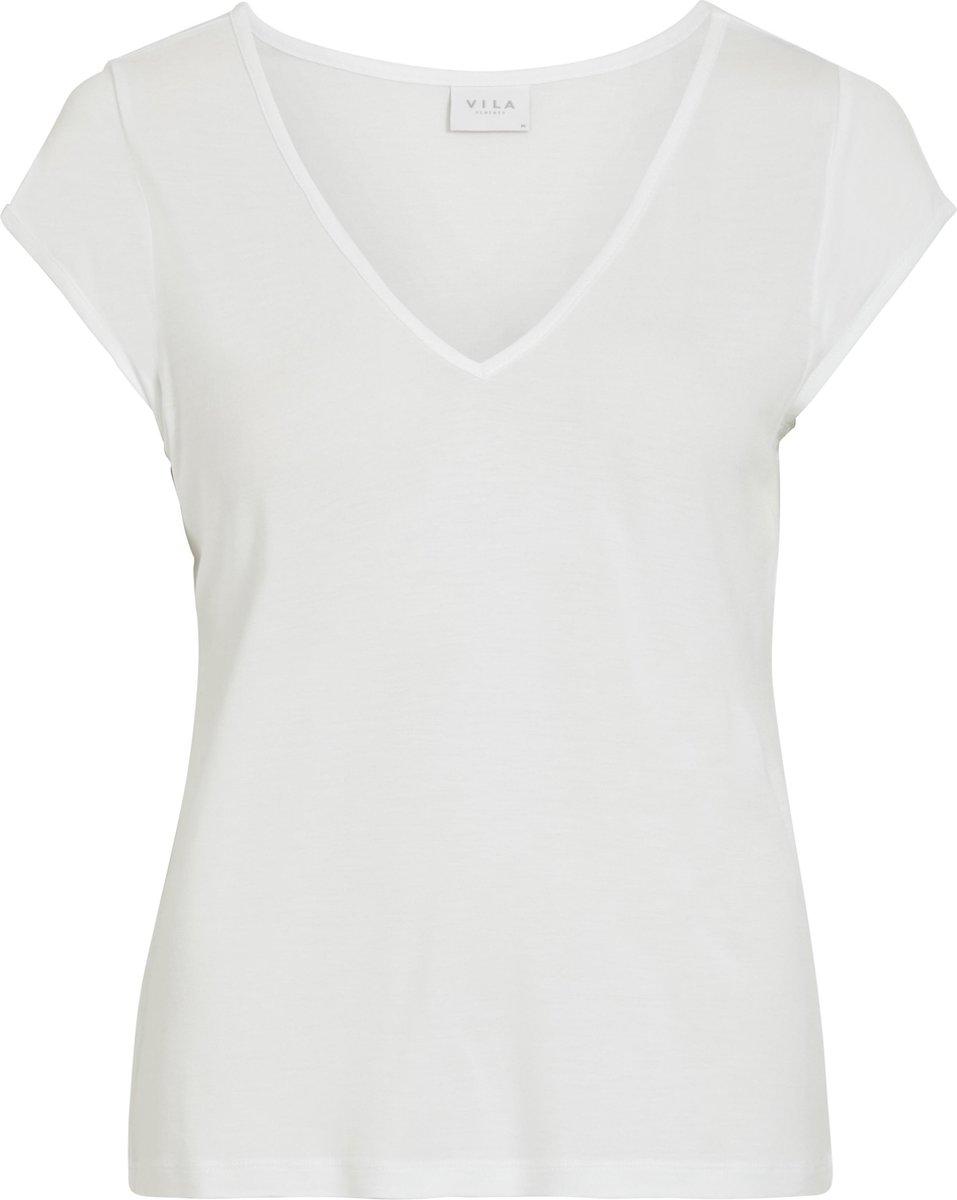 Vila Viscoop Dames T-shirt- Maat L