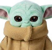 Baby Yoda Knuffel | 30 CM | Incl. GRATIS Baby Yoda Sticker | The Child Groku | Star Wars | Pluche | The Mandalorian |