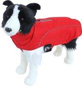 Hondenjas - Luxury Waterproof - Kleur: rood - Maat: 35 cm.