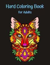 Hard Coloring Book for Adults