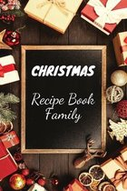 Christmas Recipe Book Family