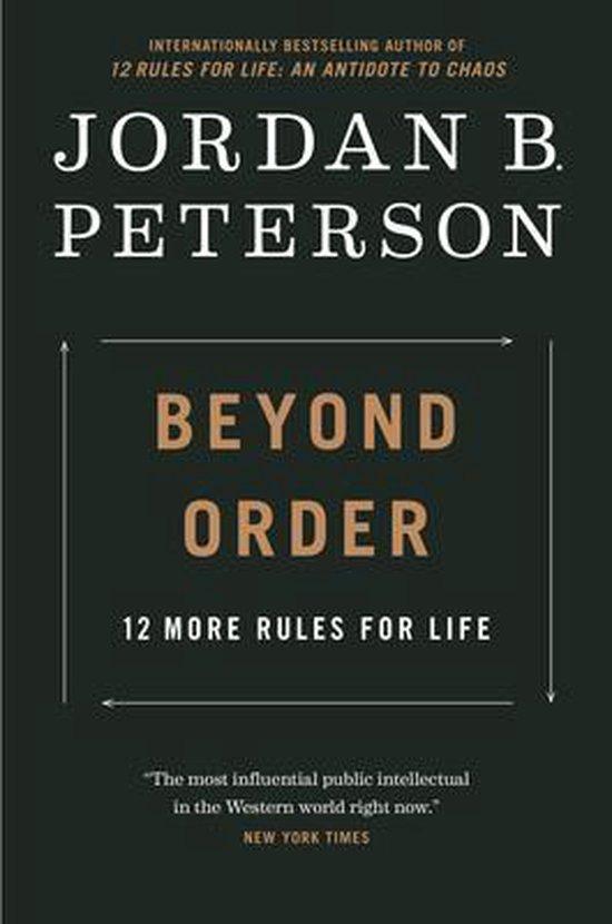 Boek cover Beyond Order van Jordan B Peterson (Hardcover)