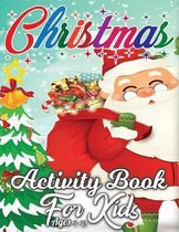 Christmas Activity Book for Kids Ages 8-12