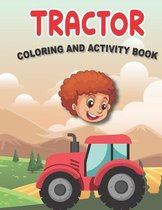 Tractor Coloring and Activity Book