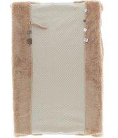 Snoozebaby aankleedkussenhoes Happy Dressing van organic katoen - 45x70cm - Milky Rust zacht roze