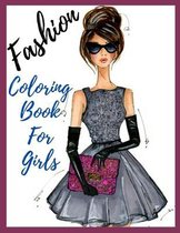 Fashion Coloring Book For Girls..