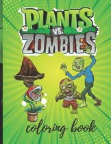 Plants vs Zombies Coloring Books