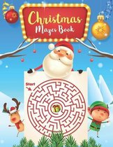 Christmas Mazes book: For Kids