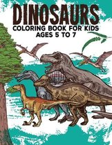 Dinosaur Coloring Book For Kids Ages 5 to 7