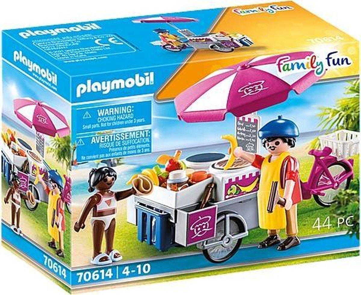 PLAYMOBIL Family Fun Mobiele cr pesverkoop - 70614