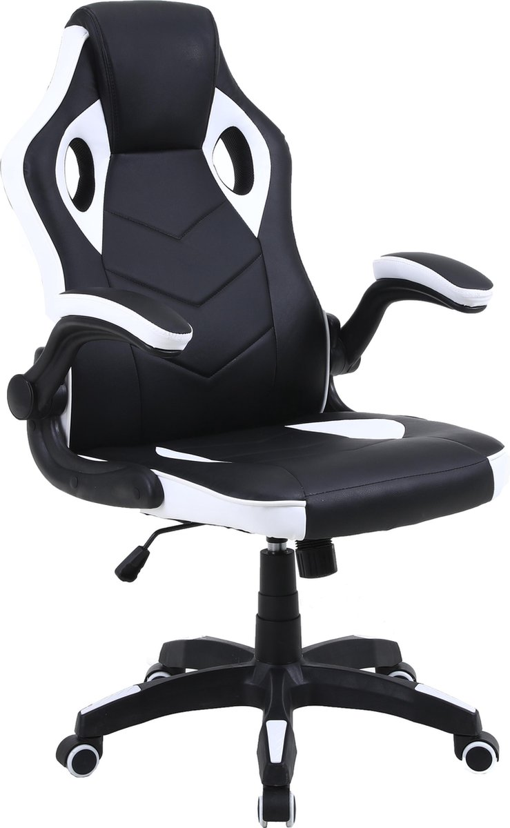Alora Gamestoel Energy - Wit - Bureaustoel - Ergonomisch - Racestoel - Gaming chair - Gaming stoel -