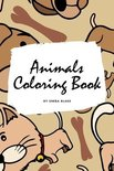 Animals Coloring Book for Children (6x9 Coloring Book / Activity Book)