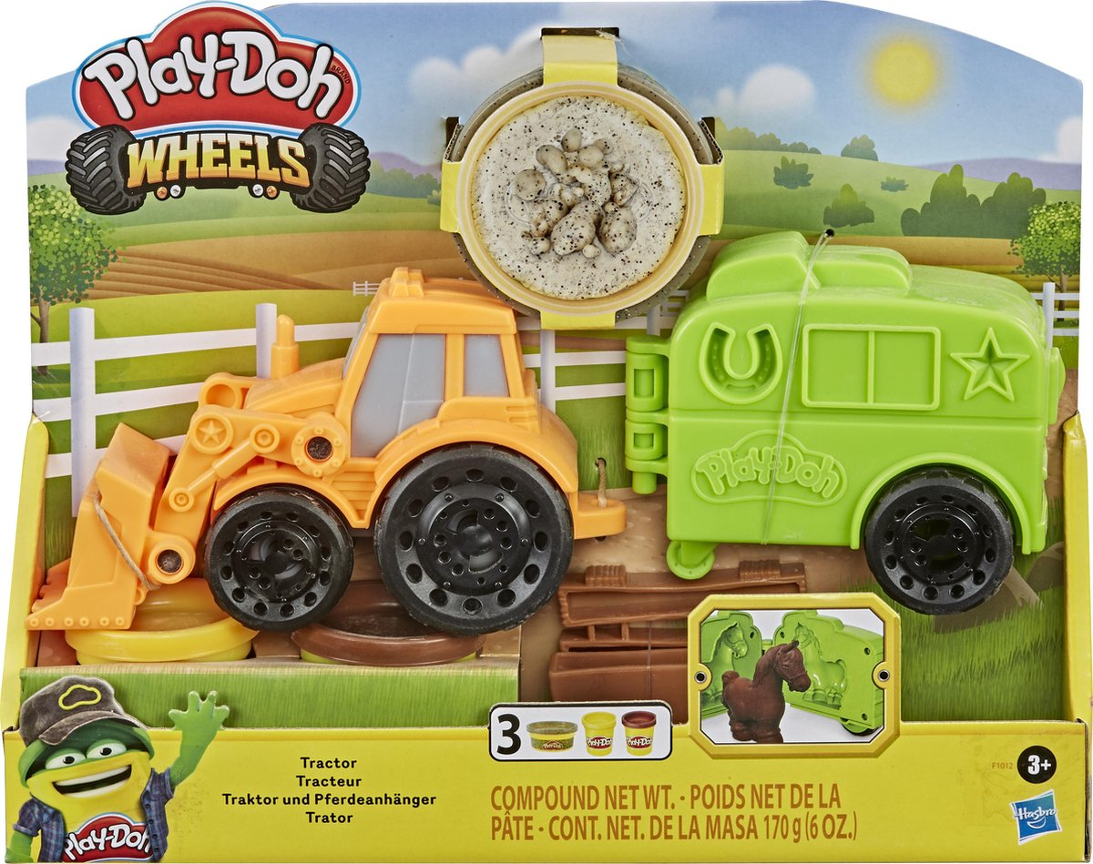 Play-Doh Wheels Tractor - Klei Speelset
