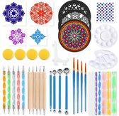 Dotting Tools 41 delig van Happy Goods® - Dot Painting - Mandala Dotting Starter Set