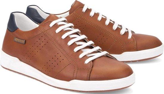 Mephisto RUFO bruin lederen sneaker - Maat 44