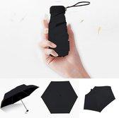 Lichtgewicht Paraplu | Mini Paraplu | Handtas Paraplu | Zwart
